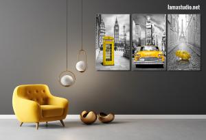 Slike na platnu sa motivima gradova